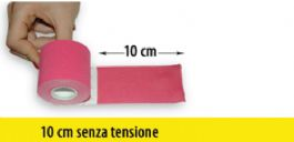 Kinesiology tape a riposo