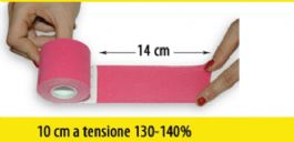 Kinesiology tape tensione media